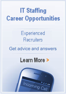 Learn more about IT staffing and Career Opportunities